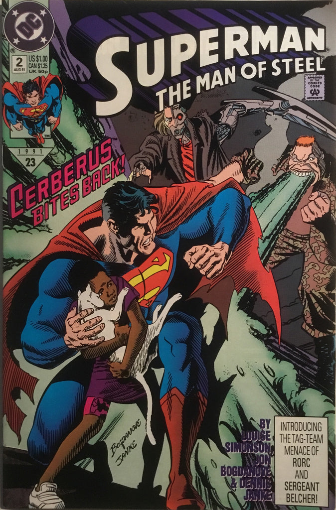 SUPERMAN THE MAN OF STEEL # 02