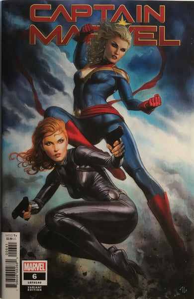 CAPTAIN MARVEL (2019) # 6 GRANOV 1:50 VARIANT COVER