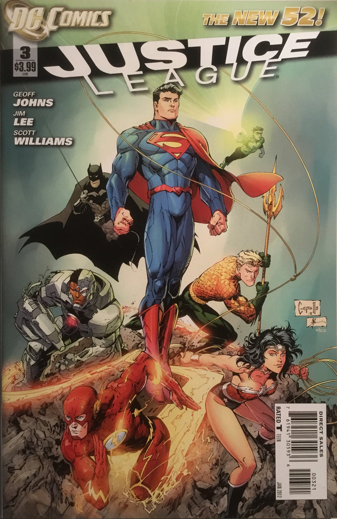 JUSTICE LEAGUE (THE NEW 52) # 03 CAPULLO 1:25 VARIANT