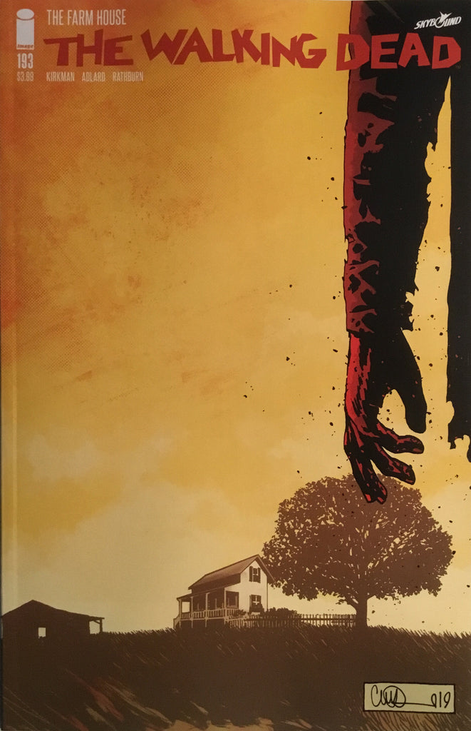WALKING DEAD # 193 FINAL ISSUE FIRST PRINTING