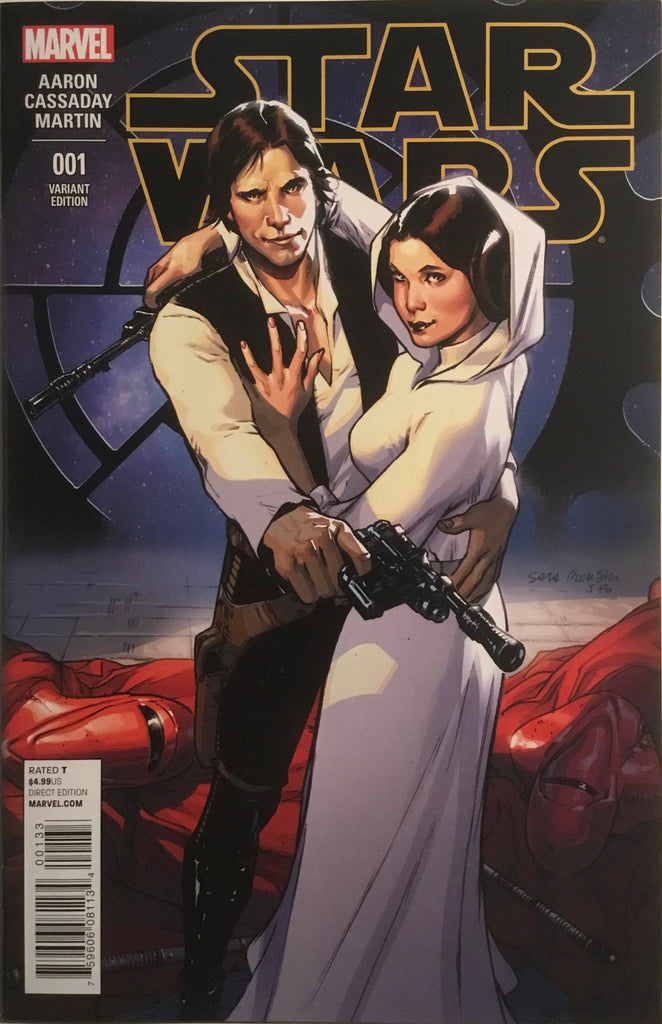 STAR WARS (2015-2020) # 1 PICHELLI 1:25 VARIANT COVER
