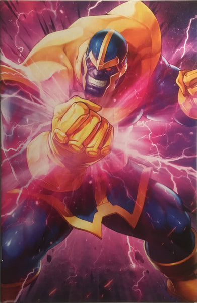 ASTONISHING X-MEN (2017-) #16 THANOS BATTLE LINES VARIANT COVER