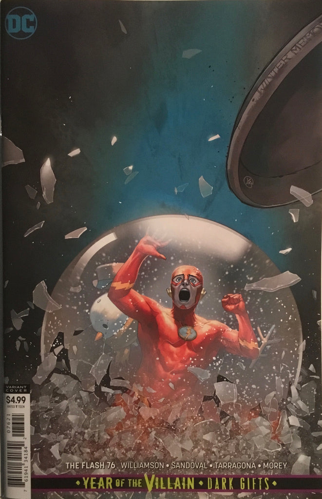 FLASH (REBIRTH) # 76 VARIANT COVER
