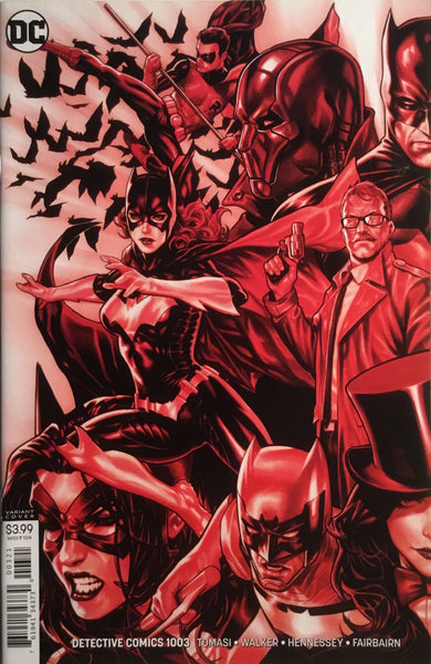 DETECTIVE COMICS #1003 & #1004 BROOKS CONNECTING VARIANT COVERS