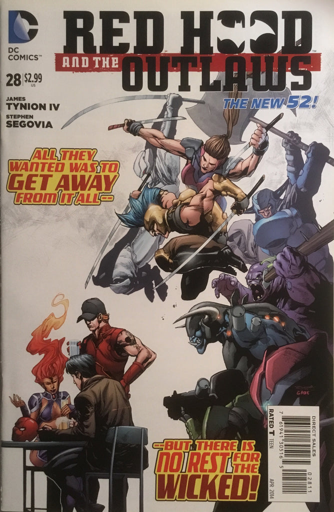 RED HOOD AND THE OUTLAWS (THE NEW 52) # 28