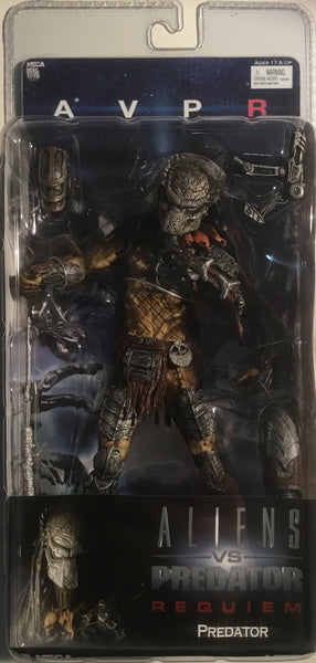 PREDATOR ACTION FIGURE (ALIENS VS PREDATOR REQUIEM) 2007 NECA