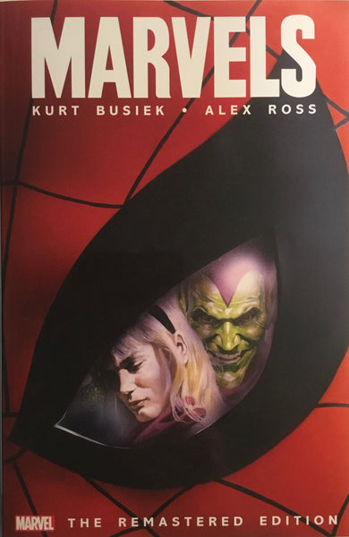 MARVELS REMASTERED EDITION GRAPHIC NOVEL