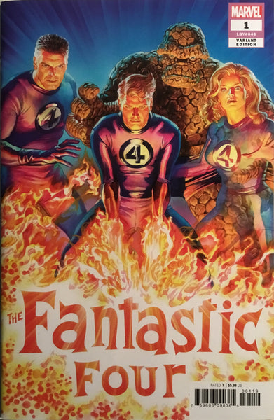 FANTASTIC FOUR (2018) # 1 ROSS 1:50 VARIANT COVER