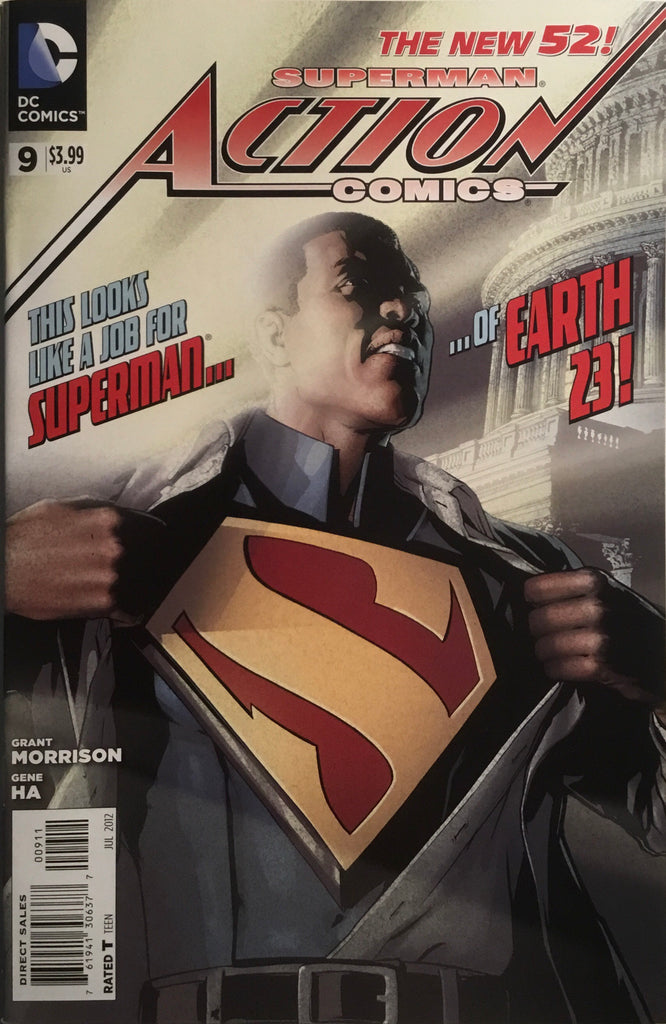 ACTION COMICS (NEW 52) #9 SECOND APPEARANCE OF CALVIN ELLIS