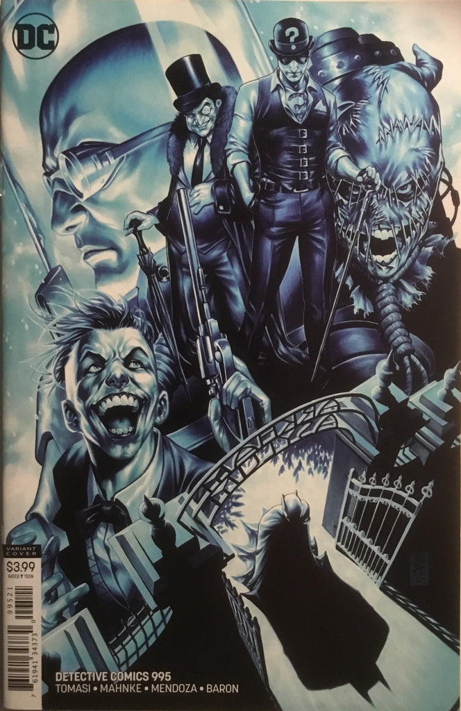 DETECTIVE COMICS # 995 BROOKS VARIANT COVER