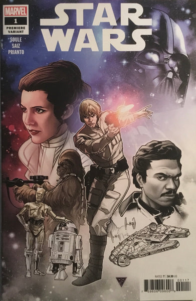 STAR WARS (2020) # 1 SILVA PREMIERE VARIANT COVER