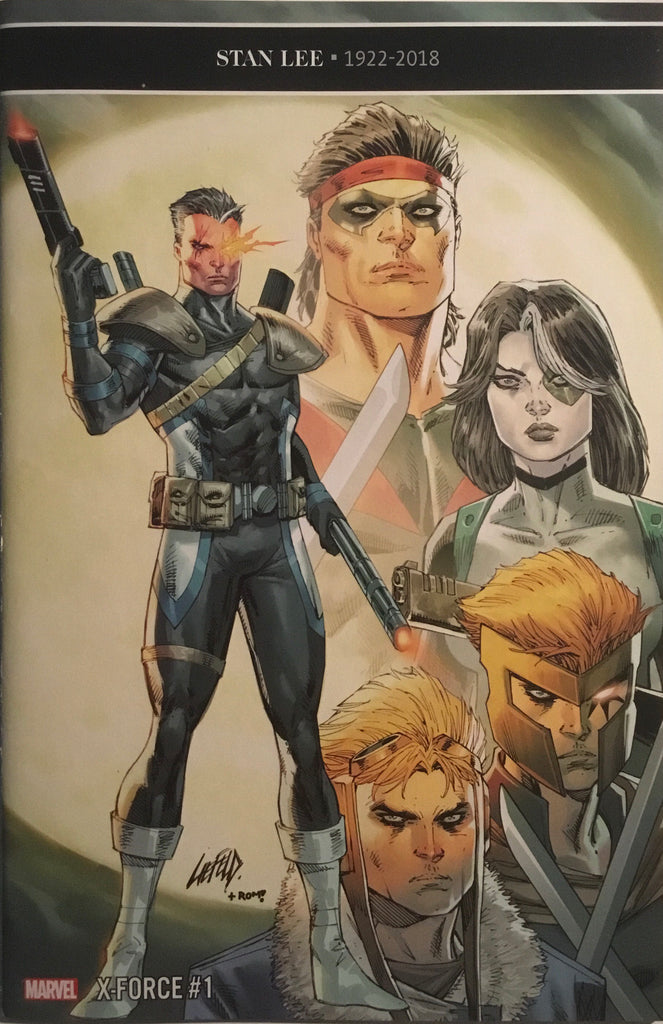 X-FORCE (2019) # 1 LIEFELD 1:25 VARIANT COVER