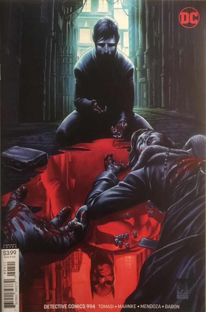 DETECTIVE COMICS # 994 BROOKS VARIANT COVER