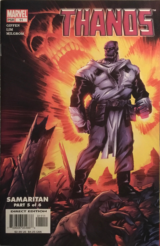THANOS (2003-2004) #11 FIRST APPEARANCE OF THE FALLEN ONE