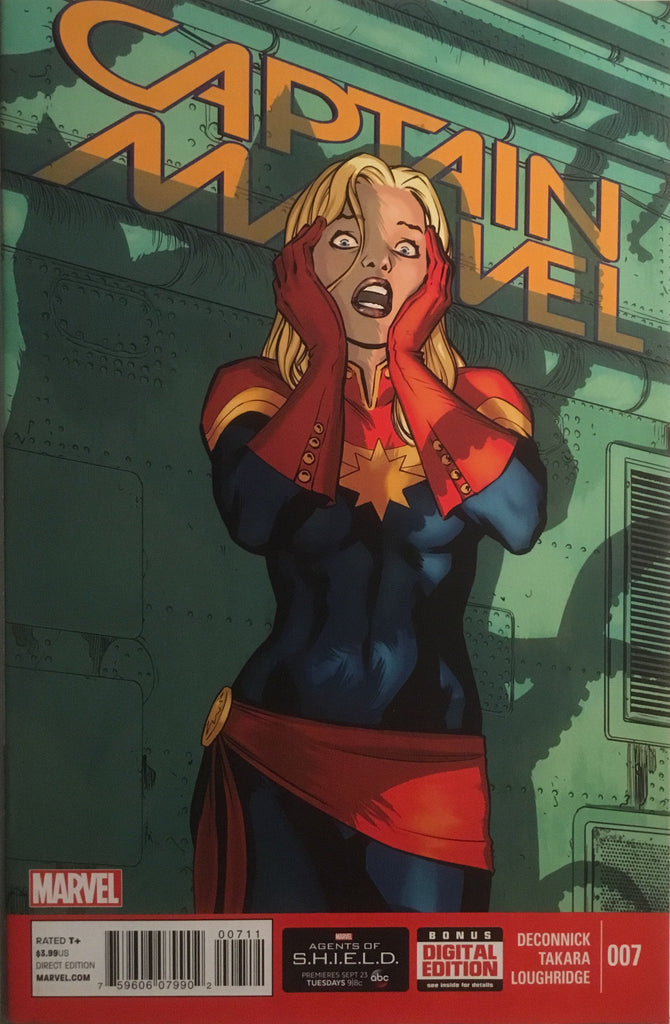 CAPTAIN MARVEL (2014-2015) # 7 FLERKEN CAMEO APPEARANCE