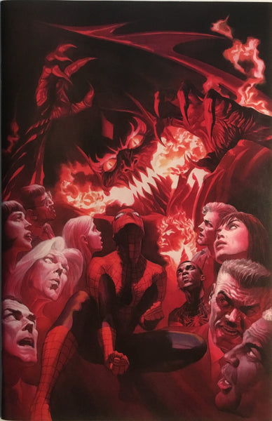 AMAZING SPIDER-MAN (2015-2018) # 800 ALEX ROSS VIRGIN 1:500 VARIANT COVER