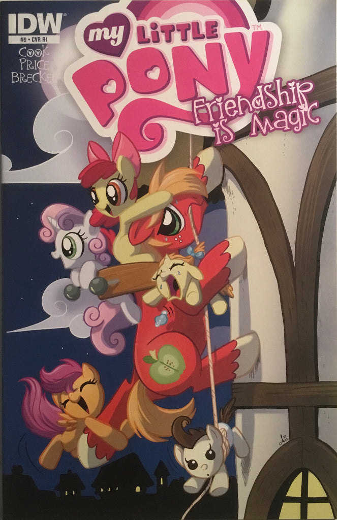 MY LITTLE PONY FRIENDSHIP IS MAGIC # 9 RETAILER INCENTIVE 1:10 VARIANT COVER