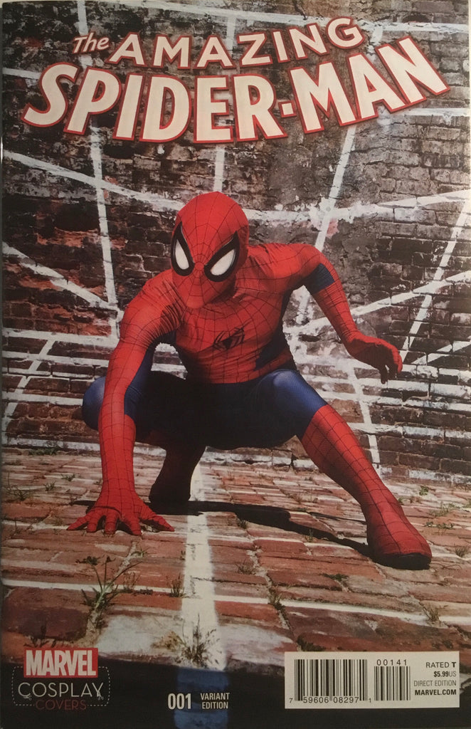 AMAZING SPIDER-MAN (2015-2018) # 1 COSPLAY 1:15 VARIANT COVER