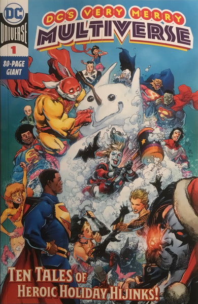 DC'S VERY MERRY MULTIVERSE #1 FIRST APPEARANCE OF KID QUICK AND BATWOMAN BEYOND