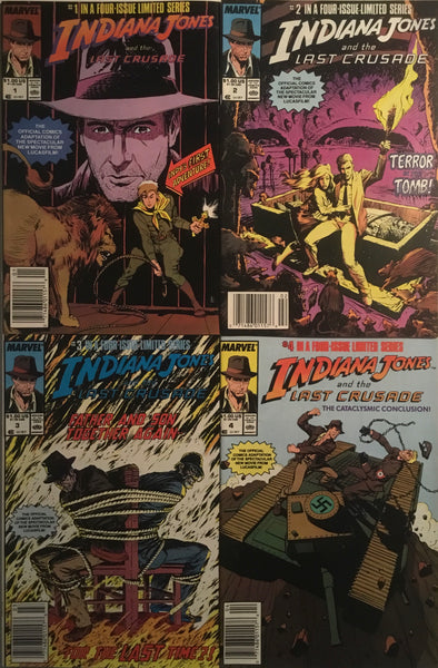 INDIANA JONES AND THE LAST CRUSADE SET # 1 - 4