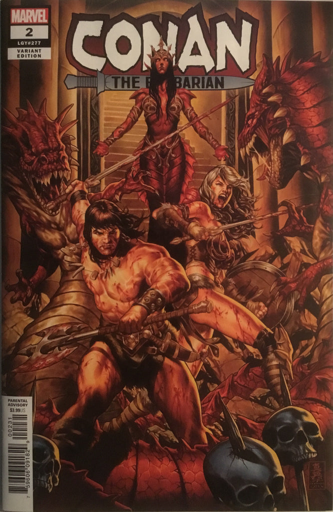 CONAN THE BARBARIAN (2019) # 2 BROOKS 1:50 VARIANT COVER