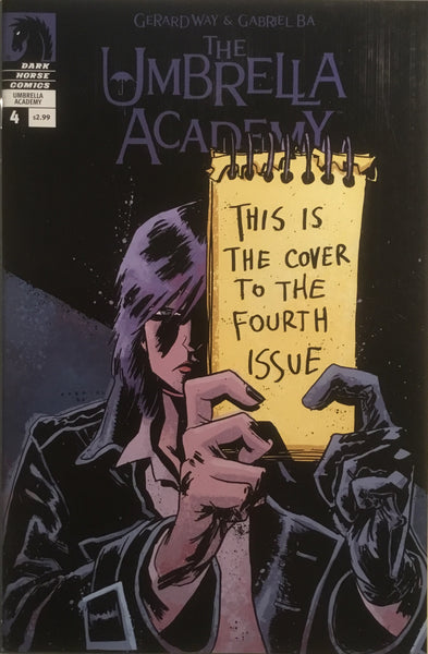 THE UMBRELLA ACADEMY SERIES 2 DALLAS  # 4