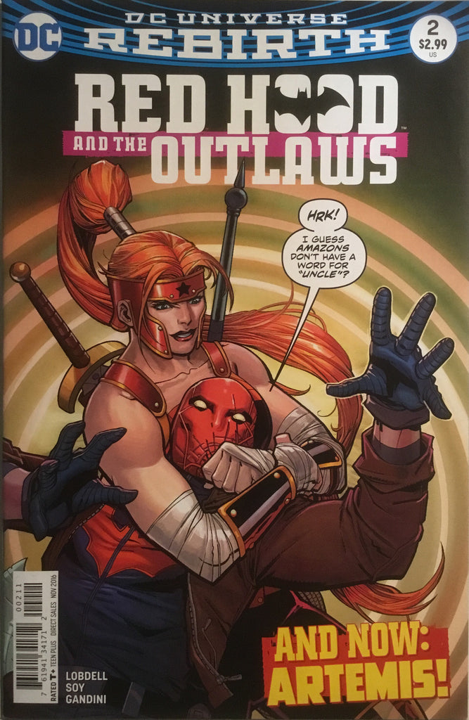 RED HOOD AND THE OUTLAWS (REBIRTH) # 02