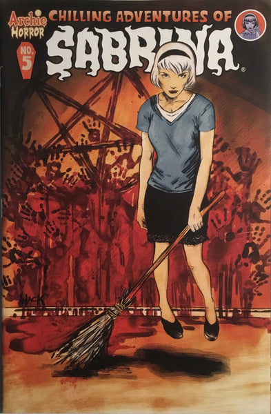 CHILLING ADVENTURES OF SABRINA # 5 (COVER A)