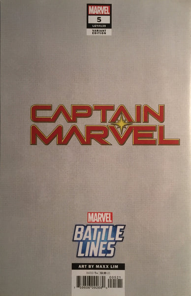 CAPTAIN MARVEL (2019) # 5 NICK FURY BATTLE LINES VARIANT COVER