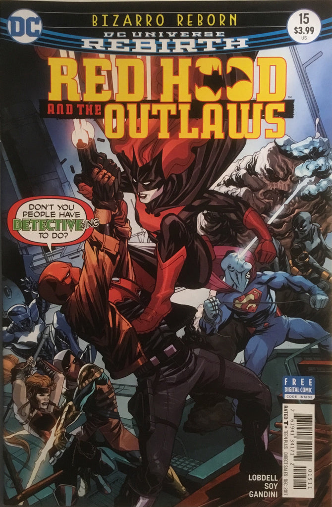 RED HOOD AND THE OUTLAWS (REBIRTH) # 15