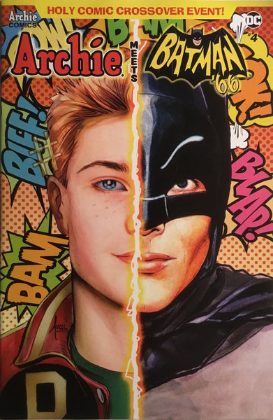 ARCHIE MEETS BATMAN '66 #4 TUCCI COVER