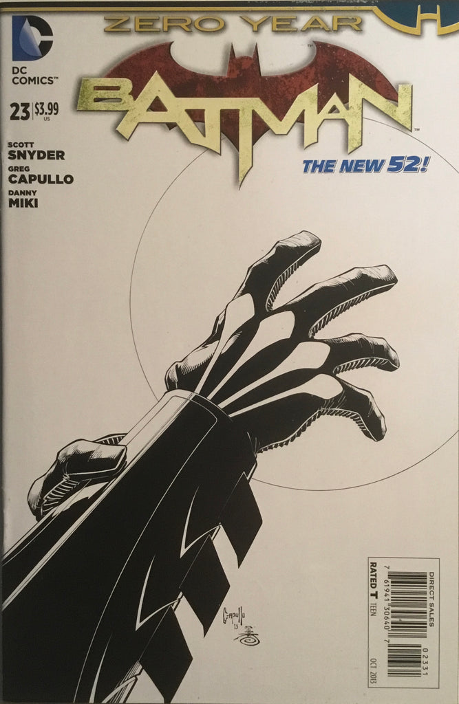 BATMAN (THE NEW 52) #23 CAPULLO 1:100 VARIANT COVER