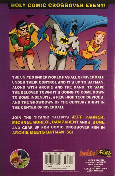 ARCHIE MEETS BATMAN '66 #6 SMALLWOOD COVER