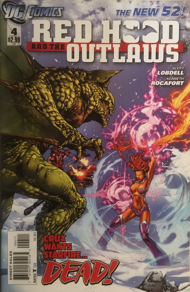 RED HOOD AND THE OUTLAWS (THE NEW 52) # 04
