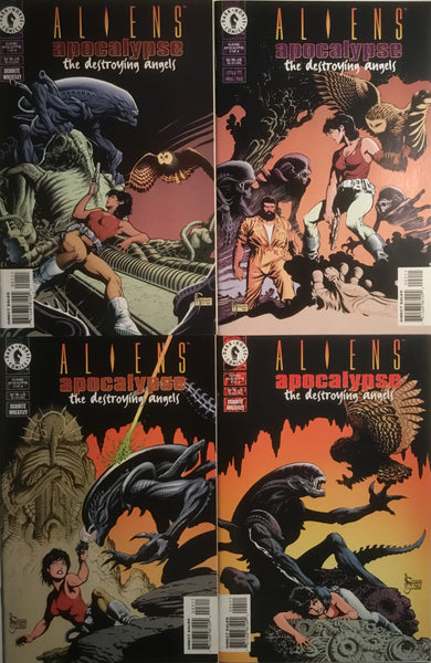 ALIENS : APOCALYPSE THE DESTROYING ANGELS # 1 - 4