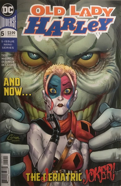 OLD LADY HARLEY # 5 FIRST APPEARANCE OF THE GERIATRIC JOKER