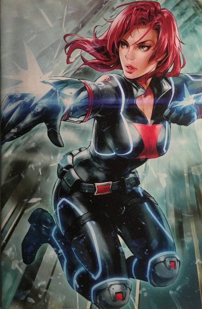 BLACK WIDOW (2019) # 5 BATTLE LINES VARIANT COVER