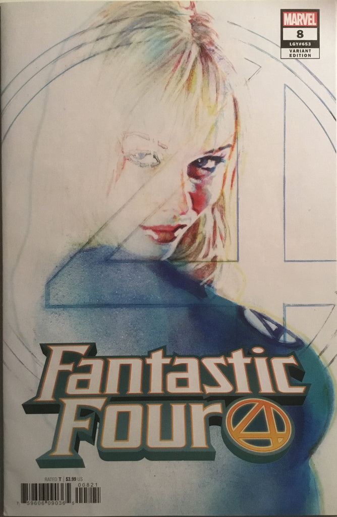 FANTASTIC FOUR (2018) # 8 SIENKIEWICZ 1:25 VARIANT COVER