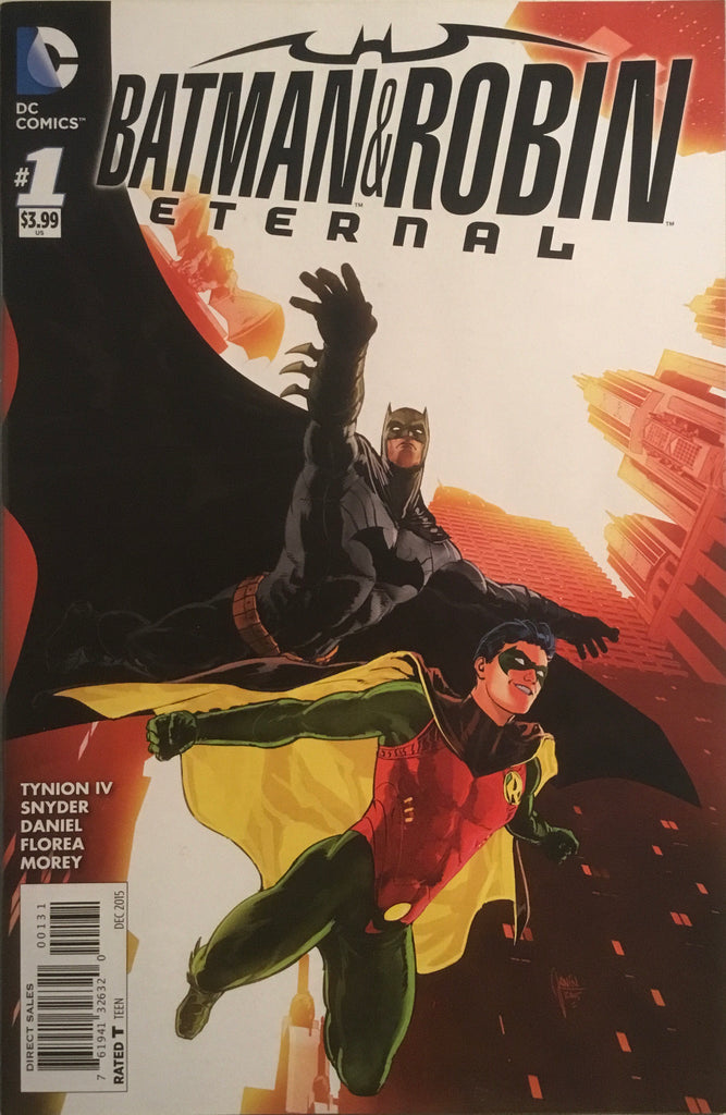 BATMAN AND ROBIN ETERNAL # 1 JANIN 1:50 VARIANT COVER