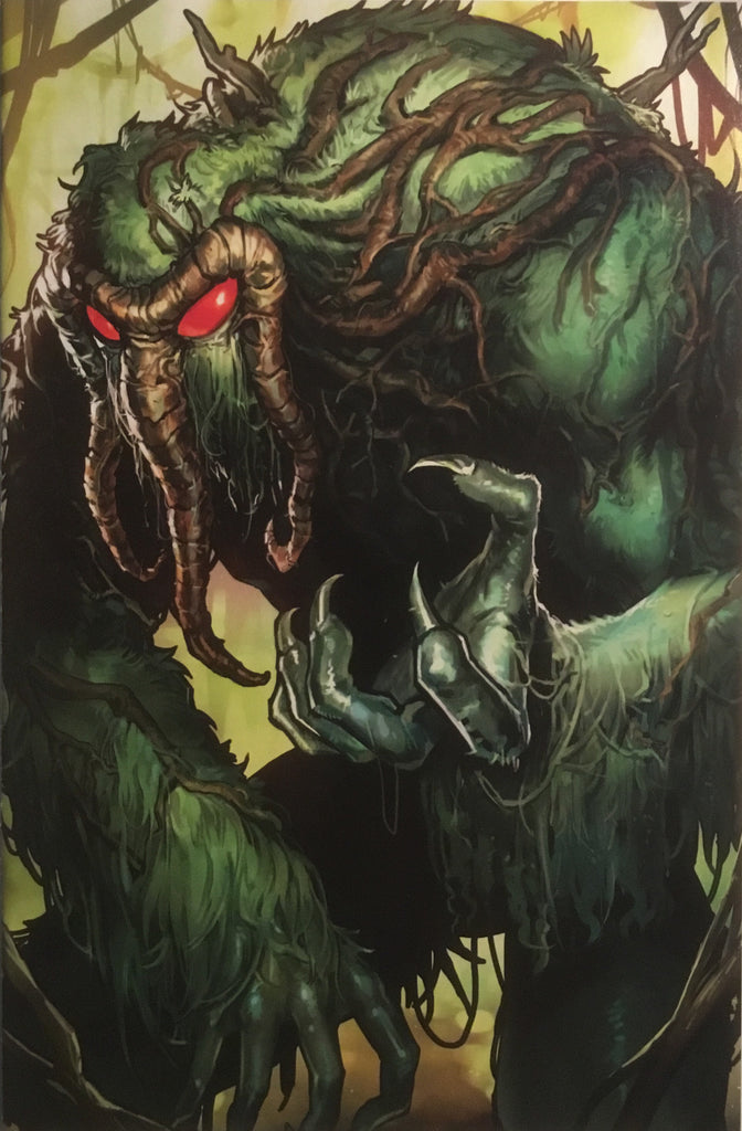 WEAPON H # 8 MAN-THING BATTLE LINES VARIANT COVER