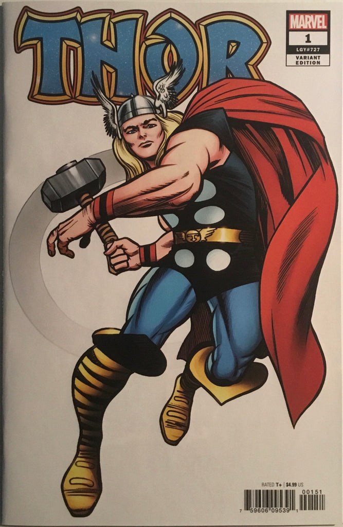 THOR (2020) # 1 KIRBY HIDDEN GEM 1:100 VARIANT COVER