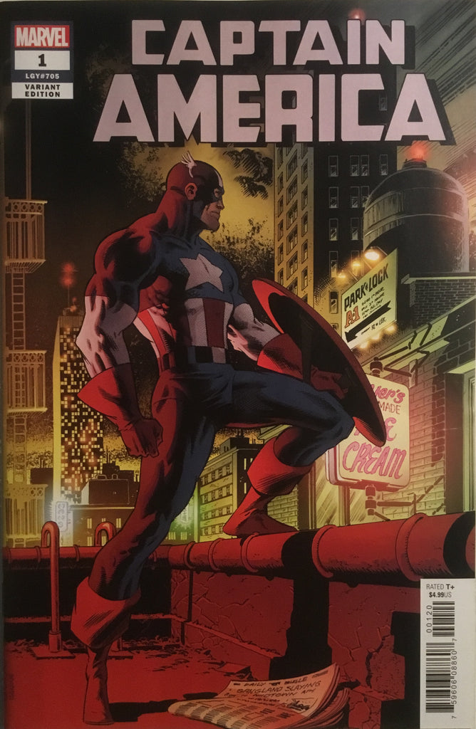 CAPTAIN AMERICA (2018) # 1 ZECK COVER