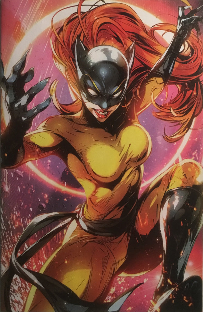 X-MEN RED # 9 BATTLE LINES HELLCAT VARIANT COVER