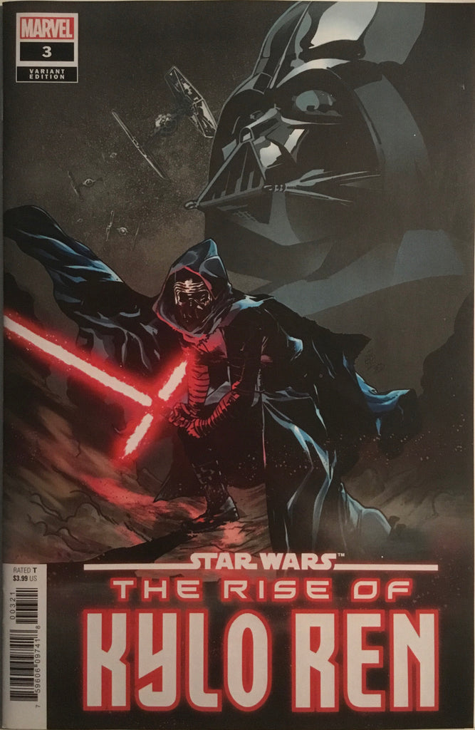 STAR WARS THE RISE OF KYLO REN # 3 LANDINI 1:25 VARIANT COVER