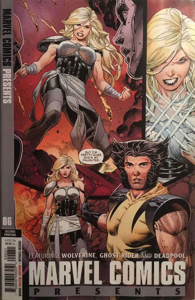 MARVEL COMICS PRESENTS #6 (2ND PRINT) 1:25 VARIANT COVER FIRST APPEARANCE OF WOLVERINE'S DAUGHTER