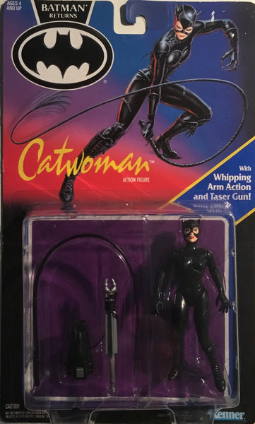 BATMAN RETURNS 1991 CATWOMAN ACTION FIGURE