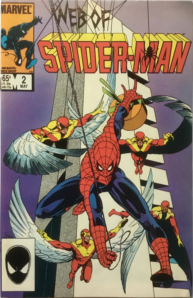 WEB OF SPIDER-MAN # 02