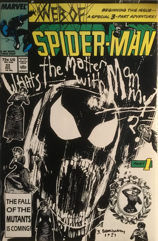 WEB OF SPIDER-MAN # 33