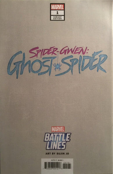 SPIDER-GWEN GHOST SPIDER # 1 BATTLE LINES VARIANT COVER