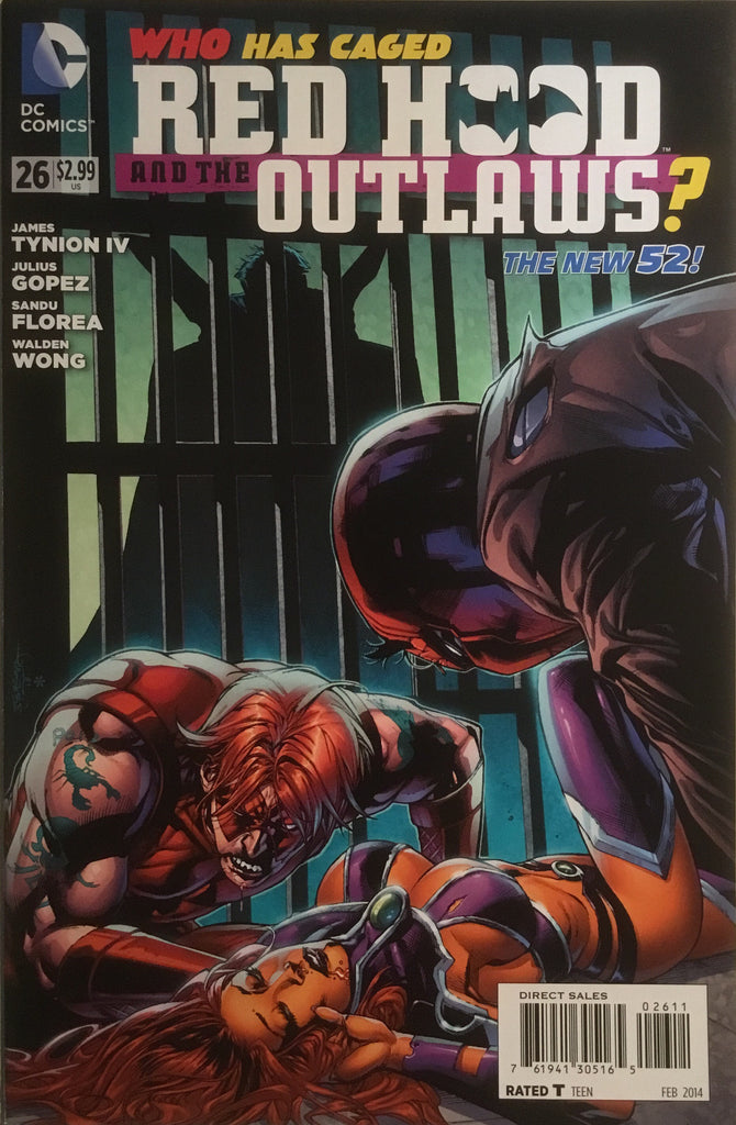 RED HOOD AND THE OUTLAWS (THE NEW 52) # 26